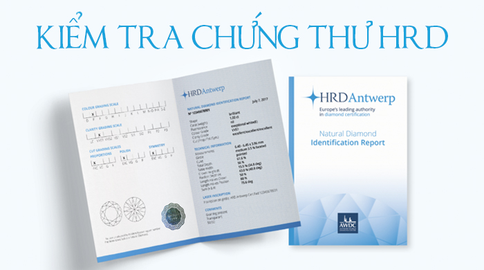 Check your HRD Diamond Certificate